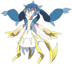 #190 Orugoh (Divine Form) by Smiley-Fakemon