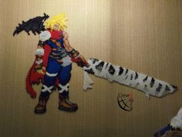 Cloud Kingdhom Heart Perler Beads by Cimenord