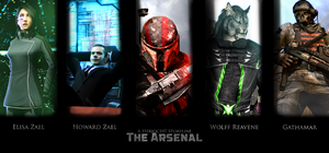 The Arsenal - Characters Teaser (Poster Style) by Herioc107