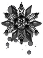 A Black Snowflake 09 by VolatilePlums