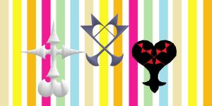 Kingdom Hearts emblems - Download by YamiSweet