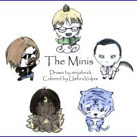 The Minis by UmbraVulpis