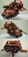 WH40K Blood Angel Land Speeder by CaelynTek