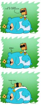 505 and Flug comic by tie-dye-flag