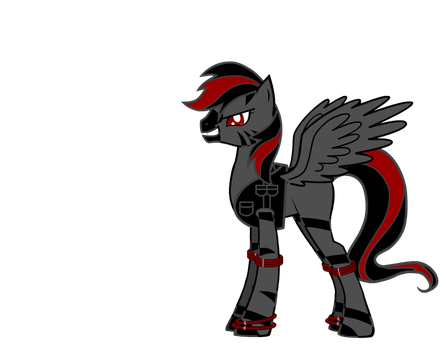 DDE Pony With Accessories by Volvagia--Vulcan