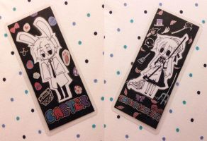 Easter X Thanksgiving Bookmarks by OtakuPup
