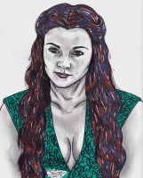 Margaery Tyrell by AudioHomicide