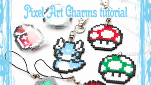 Pixel Art Charms TUTORIAL by FrozenNote