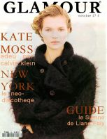 Glamour Kate Moss Cover by clokverkorange