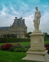 Statue at Versailles by Captain-Planet