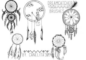 Brushes Dreamcatcher By Canelita309 by SriitaDeWatt