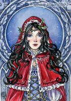 winter aceo by MeredithDillman