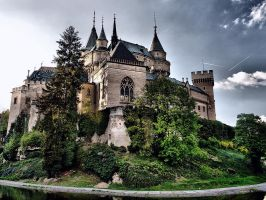 Bojnice Castle by Momasko