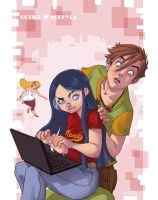 Geek and Girly by Hito76