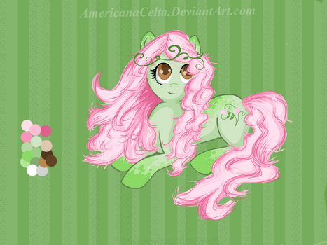 Sweet Pea pony Auction (closed!) by AmericanaCelta