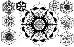 Mandala Vector by unpl4yed