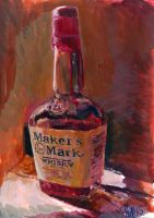 maker's mark sketch by charles-hall