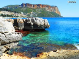 Cassis, France by Tanaaelle