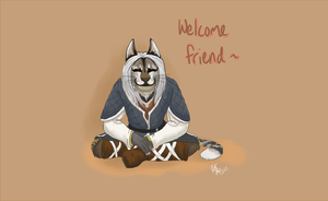 Welcome Friend by strangah