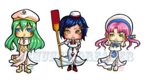Aria Chibis by Bemused-Dreamer