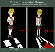 Meme  Before And After By Bampire-d2xu0442 by RaiguTheFox