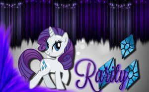 Rarity Wallpaper by The-Light-Source
