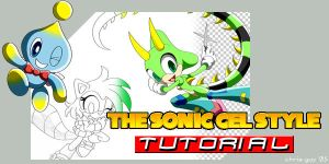 Sonic Cel-Style Tutorial by CaptRicoSakara