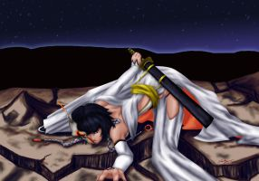 Arrancar Soi Fon_v2 by Ruby-Hime