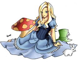 Alice colour by TomAlbert