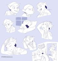 Dimitri Doodles- Morning Routine by Fyuvix
