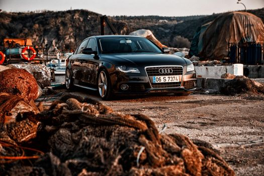 audi a4 in harbor by theprodiqy