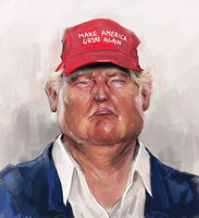 Donald Trump by clc1997