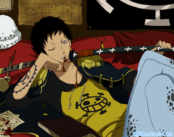 Trafalgar Law by DigiAnime