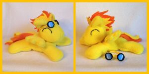 Spitfire beanie plush commission by Bewareofkitty