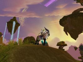 Guardian of Nagrand by DeyVarah