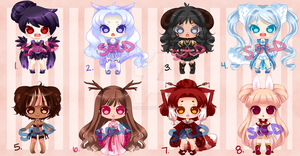 Cutie Adopts: Mega Set: CLOSED by RaineSeryn