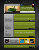 Wordpress Template 7 by Tooschee