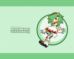 Commission example: Sonic Channel style by Shoutaro-Saito