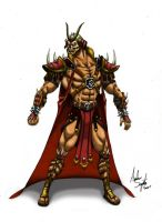 Shao Kahn Re-design by soysaurus1