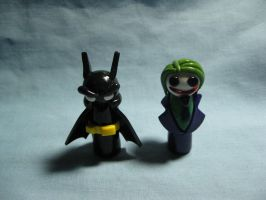 Wobbles: DC Comics by okapirose