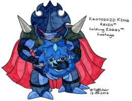 Krotozoid King Kevin and Ziggy by trinityweiss