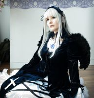 Suigintou Cosplay by Psunna