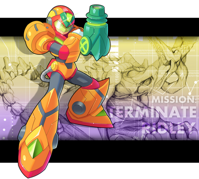 X - Power Suit Armor By Ultimatemaverickx by V-a-a-N
