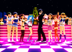 8th MMD Cup Eazy Dance group by RaikuHoshigami