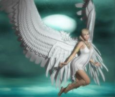 Beautiful Angel by Poser4U