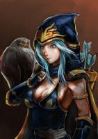 Ashe by rx78gp01s