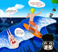 Team Kakashi at the Beach xD by Cisca0Kid