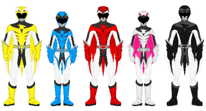 Chojin Sentai Jetman by heavenlymythicranger