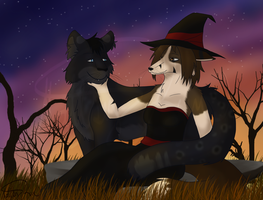 Witch and Familiar by MattsyKun