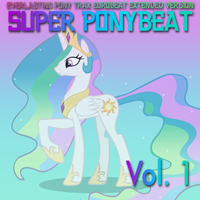 Super Ponybeat Vol 1 ALTERNATE by eurobeatBrony